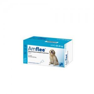 Amflee Spot-on Hond - 268 mg - 6 pipetten