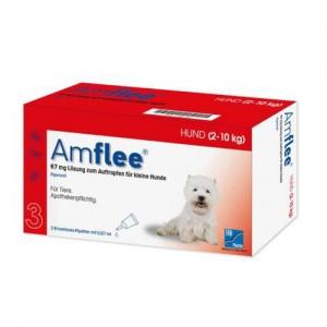Amflee Spot-on Hond - 67 mg - 3 pipetten