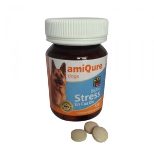 AmiQure - Stress hond 120 tabletten