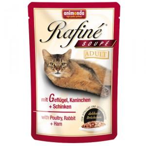 Animonda Rafiné Soupé - Adult gevogelte/konijn/ham - 24x100 gr.
