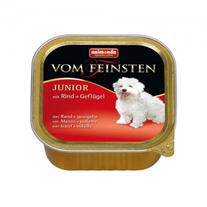 Animonda Vom Feinsten Junior - Rund/Gevogelte 22x150 gr.