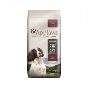 Applaws Dog - Adult Small & Medium - Chicken with Lamb - 15 kg