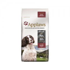 Applaws Dog - Adult Small & Medium - Chicken with Lamb - 2 kg