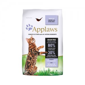 APPLAWS CAT ADULT CHICKEN-DUCK KATTENVOER #95;_7,5 KG