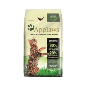 APPLAWS CAT ADULT CHICKEN-LAMB KATTENVOER #95;_400 GR