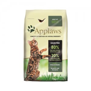 APPLAWS CAT ADULT CHICKEN-LAMB KATTENVOER #95;_7,5 KG