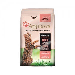 APPLAWS CAT ADULT CHICKEN-SALMON KATTENVOER #95;_7,5 KG
