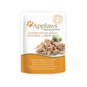 Applaws Cat - Chicken Breast & Beef in Jelly - 16 x 70 g