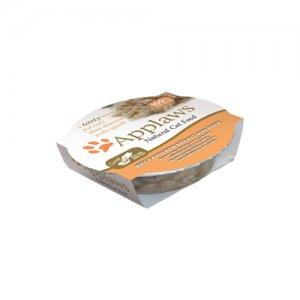 Applaws Cat - Chicken Breast & Duck Pots - 10 x 60 g