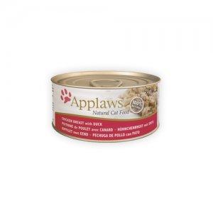 Applaws Cat - Chicken Breast & Duck - 24 x 156 g