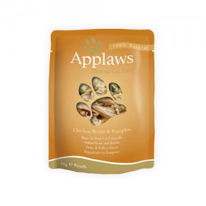 Applaws Cat - Chicken Breast & Pumpkin in Broth - 12 x 70 g