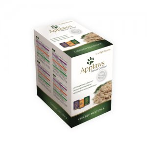 Applaws Cat - Chicken in Broth Multipack - 12 x 70 g