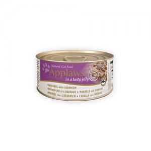 Applaws Cat - Jelly - Mackerel & Seabream - 24 x 70 g