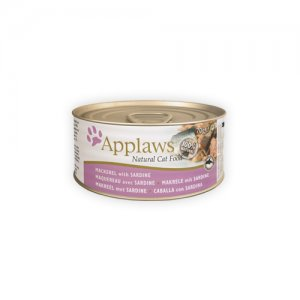 Applaws Cat Mackerel & Sardine 24 x 156 g