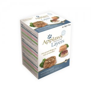 Applaws Cat - Mixed Multipack Layers - 6 x 70 g