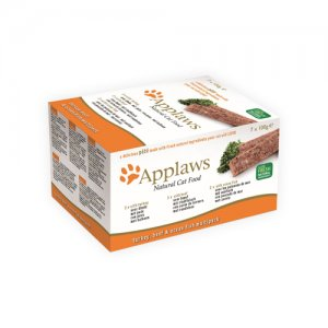 Applaws Cat - Paté with Turkey, Beef & Ocean Fish Multipack - 7 x 100 g