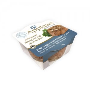 Applaws Cat - Tuna & Anchovy Layers - 12 x 70 g