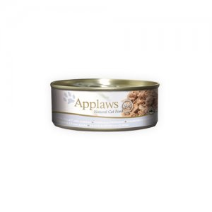 Applaws Cat - Tuna Fillet & Cheese - 24 x 70 g
