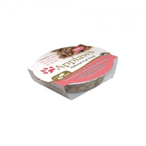 Applaws Cat - Tuna Fillet & Crab Pots - 10 x 60 g