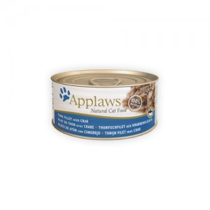 Applaws Cat - Tuna Fillet & Crab - 24 x 70 g