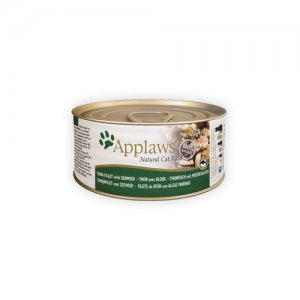 Applaws Cat - Tuna Fillet & Seaweed - 24 x 156 g