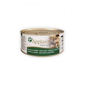 Applaws Cat - Tuna Fillet & Seaweed - 24 x 156 g