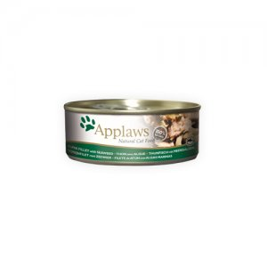 Applaws Cat - Tuna Fillet & Seaweed - 24 x 70 g