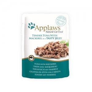 Applaws Cat - Tuna & Mackerel in Jelly - 16 x 70 g