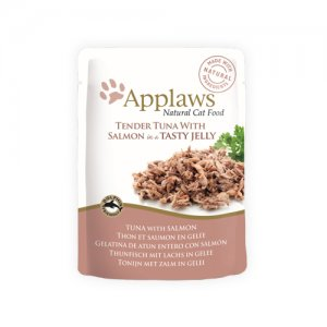 Applaws Cat - Tuna & Salmon in Jelly - 16 x 70 g