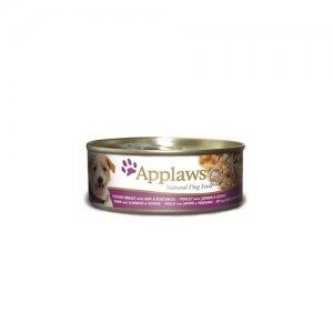 Applaws Dog - Chicken & Ham with Vegetables - 12 x 156 g