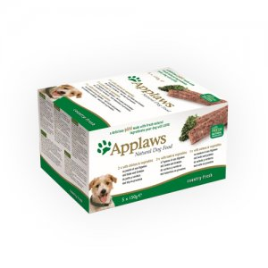 Applaws Dog - Country Fresh Selection - 5 x 150 g