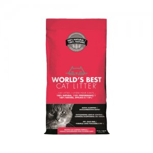 World's Best – Cat Litter – Extra Strength Red – 3,18 kg
