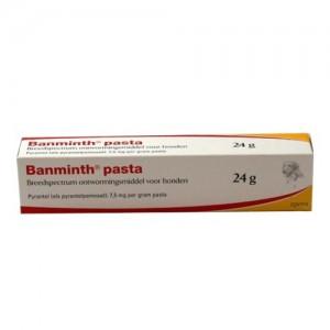 Banminth pasta hond tube 3x 24 gram