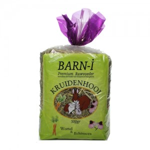 Barn-i Kruidenhooi - Wortel en Echinacea - 6x 500 gram