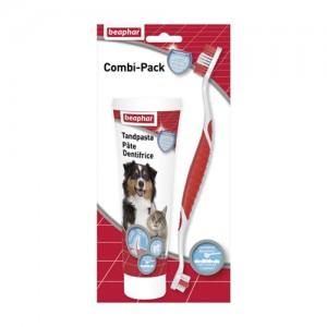 Beaphar Combi-Pack Zahnpasta + Zahnbürste