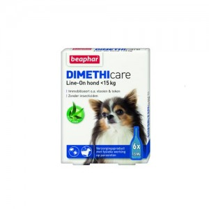 Beaphar DIMETHIcare Line-on Hond <15 kg