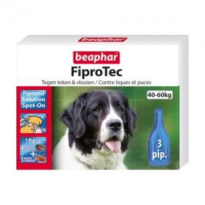 Beaphar FiproTec Spot-On Hond 40 – 60 kg – 3 pipetten
