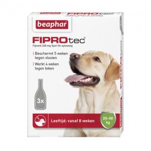 Beaphar FiproTec Spot-On Hond 20 - 40 kg - 3 pipetten