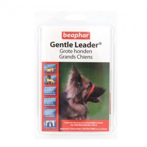 Beaphar Gentle Leader – Grote Honden – Rood