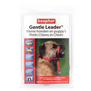 Beaphar Gentle Leader – Kleine Honden en Puppy's – Rood