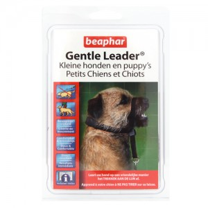 Beaphar Gentle Leader Kleine Honden en Puppy`s Zwart