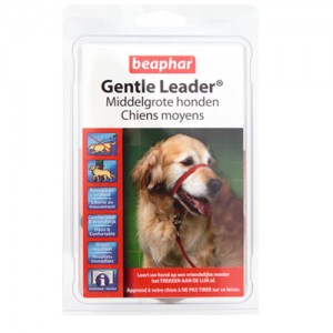 Beaphar Gentle Leader – Middelgrote Honden – Rood