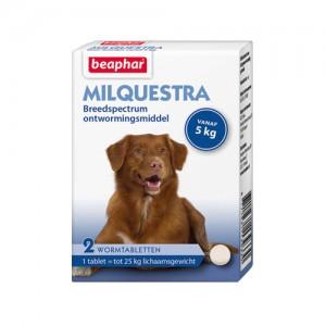 Beaphar Milquestra Grote hond - 2 tabletten