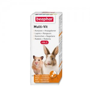 Beaphar Multi-Vit Knaagdier – 20 ml