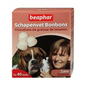 Beaphar Schapenvet Bonbons Zalm - 245 g