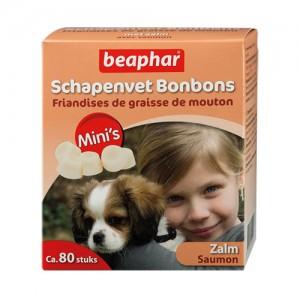 Beaphar Schapenvet Bonbons Zalm Mini – 245 g