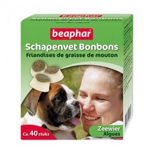 Beaphar Schapenvet Bonbons Zeewier – 245 g