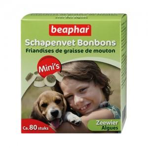 Beaphar Schapenvet Bonbons Zeewier Mini – 245 g