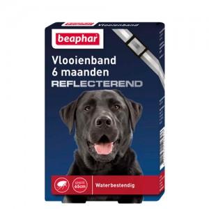 Beaphar Vlooienband Hond - 6 maanden - Reflecterend