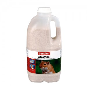 Beaphar Xtravital Gerbil Badzand - 2 liter (1300 gram)